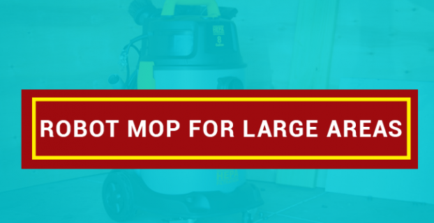 Robot Mop For Large Areas