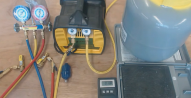 How To Recover Freon With Vacuum Pump