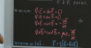 What is the Speed of Electromagnetic Waves in a Vacuum?